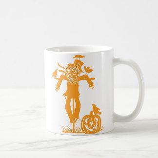 Halloween Scarecrow Silhouette Classic Mug Mug
