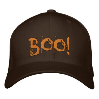 Halloween Scary Bloody Boo !!! Embroidered Baseball Caps