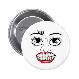 Halloween Scary Button