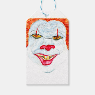 Halloween Scary Clown2 Gift Tags