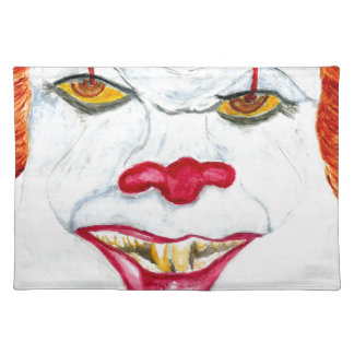 Halloween Scary Clown2 Placemat
