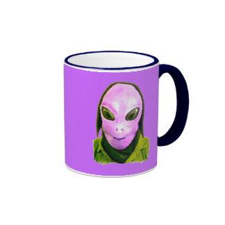 Halloween Scary Head 4 Coffee Mugs