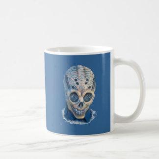 Halloween Scary Head Mugs
