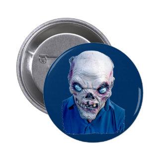 Halloween Scary Heads 6 Cm Round Badge