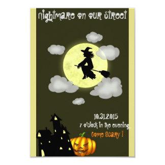 Halloween Scary Invite