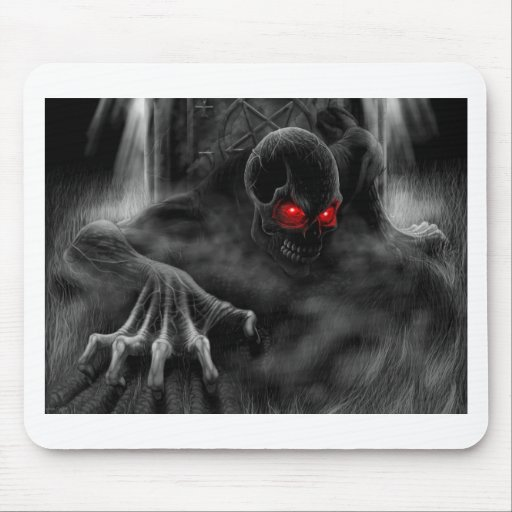Halloween Scary Mouse Pad