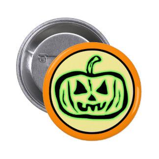 Halloween Scary Pumpkin Jack O Lantern Pins