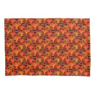 Halloween Scary Pumpkins Pillow Case