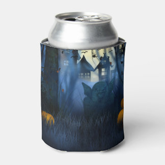 Halloween - Scary Scene 1 Goblin Can Cooler