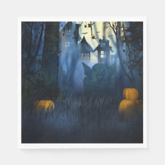 Halloween - Scary Scene 1 Goblin Disposable Napkins