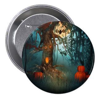Halloween Scary Scene (3) 7.5 Cm Round Badge
