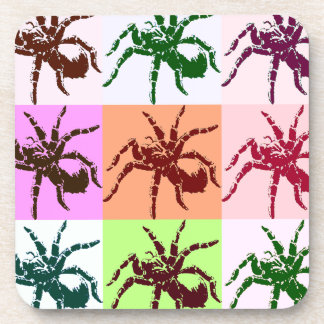 Halloween Scary Tarantula Tiles Drink Coasters