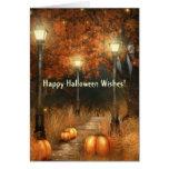 Halloween Scene Card