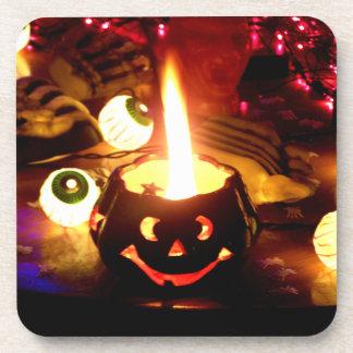 Halloween Scene Drink Coasters