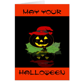 Halloween Seeing Double Greeting Card