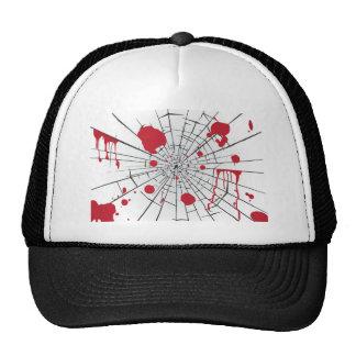 halloween shattered glass cap