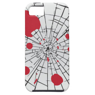halloween shattered glass iPhone 5 covers