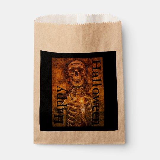 Halloween Skeleton Art Goodie Bags