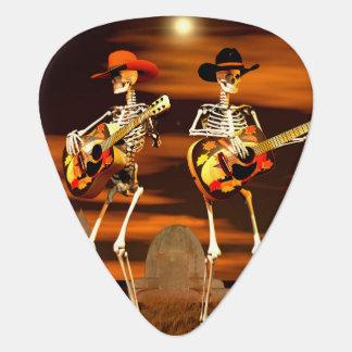 Halloween Skeleton Concert Plectrum