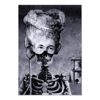 Halloween Skeleton Invite