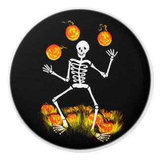 Halloween skeleton knobs