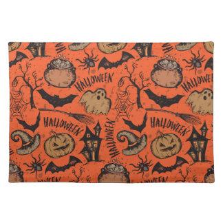 Halloween sketch! placemat