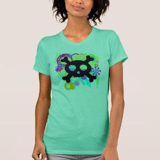 Halloween Skull and Crossbones T-Shirt