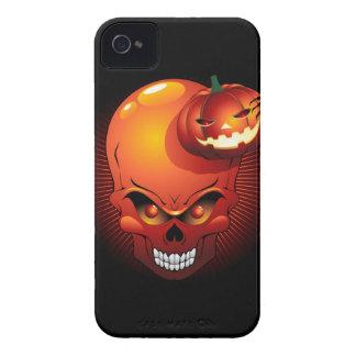 Halloween Skull and Pumpkin BlackBerry Case