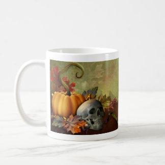Halloween Skull Basic White Mug
