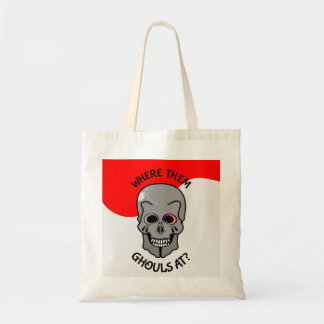 Halloween Skull Budget Tote Bag