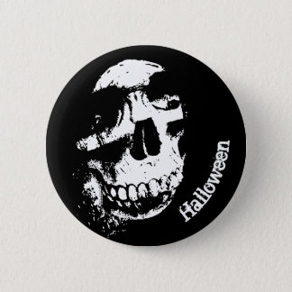 Halloween Skull | Button