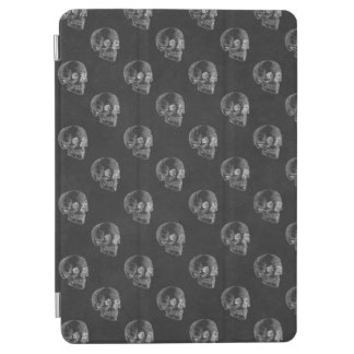 Halloween Skull Chalkboard Pattern iPad Air Cover