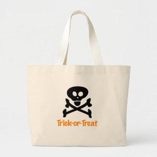 Halloween Skull & Crossbones Bag