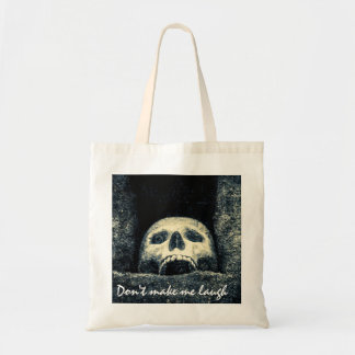 Halloween Skull Do not make me laugh Tote Bag