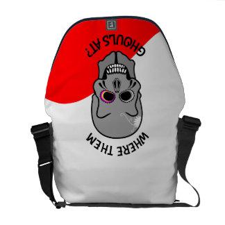 Halloween Skull Commuter Bag