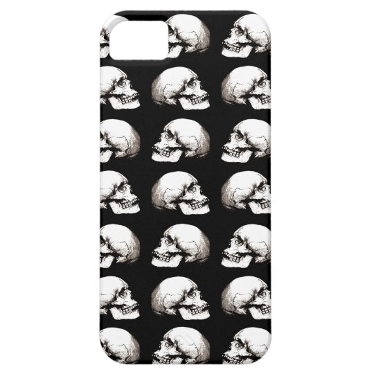 Halloween skull pattern barely there iPhone 5 case