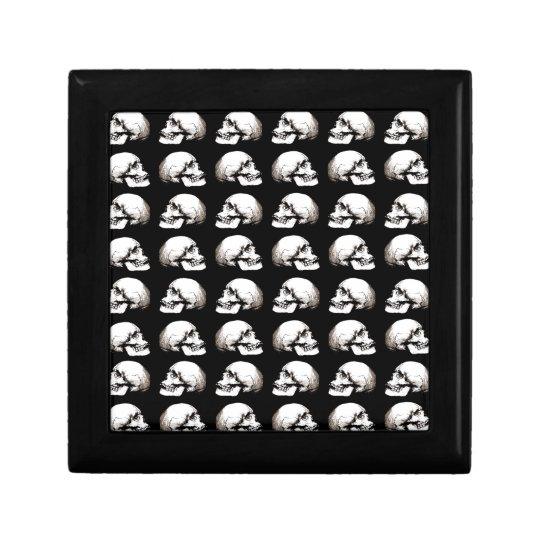 Halloween skull pattern gift box