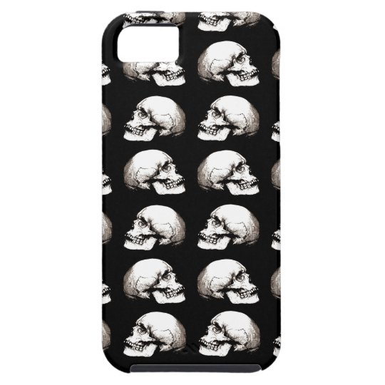 Halloween skull pattern iPhone 5 cover