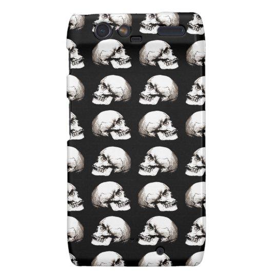 Halloween skull pattern motorola droid RAZR case
