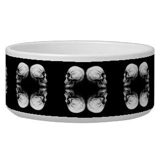 Halloween Skull Protection Bones Profile Round