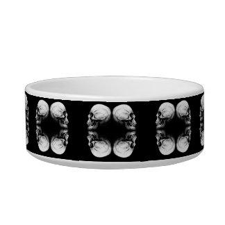 Halloween Skull Protection Bones Profile Round Bowl