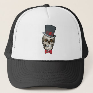 Halloween Skull Trucker Hat