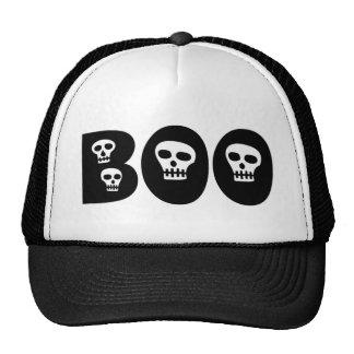 """Halloween Skulls """"Boo"""" Cap"""