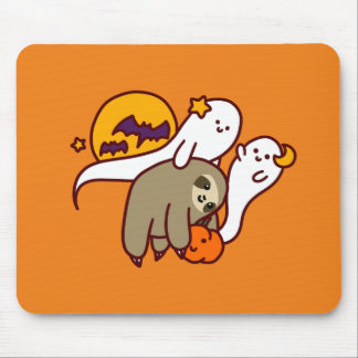 Halloween Sloth Mouse Pad