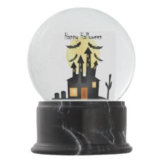 Halloween Snow Globe