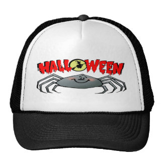 Halloween Spider Mesh Hat