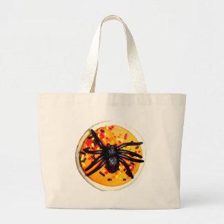 Halloween Spider Cookie Tote Bag