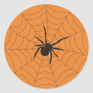 Halloween Spider Gift Tag