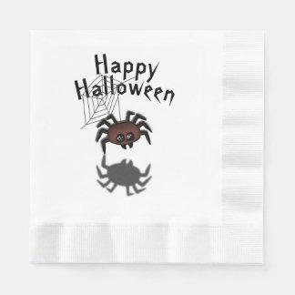 Halloween Spider Paper Serviettes