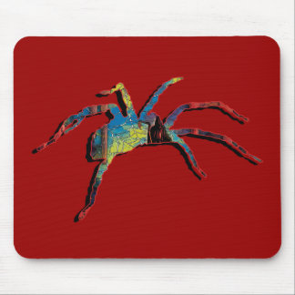 Halloween spider scary creepy crawly mousemats